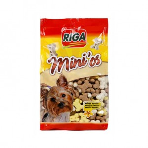 Biscuits pour Chiens Goût Vanille Riga Mini'Os 500g