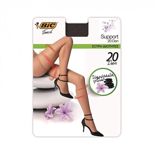 Bic Touch Collant Femme Transparent Support 20D Gr