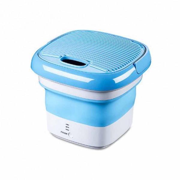 Machine à laver pliable Maxtop MP 2690 en silicone - Bleu