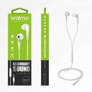 Écouteurs HALO 2 OEP-E21 - Blanc- Oraimo