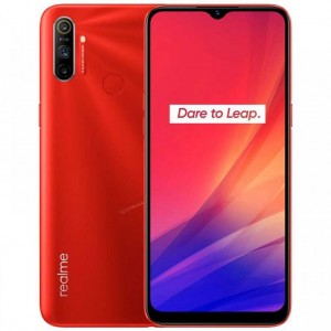 "Realme C3 Smartphone 6,5"" Double Sim 64G/3G - 12MP+2MP/5MP - Rouge Flamboyant"