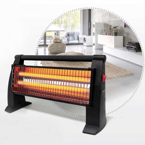 Chauffage électrique Noir à 2 niveaux, 1200 W, 220 -240 V , - ROYAL LX-2819