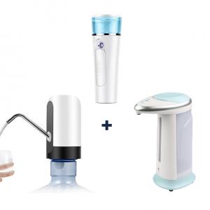 Pompe pour Distributeur d'Eau Automatique + Spray Humidificateur Facial + Distributeur de Savon