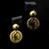 Boucles d'oreilles Louisa en acier inoxydable trempé en or - Doré