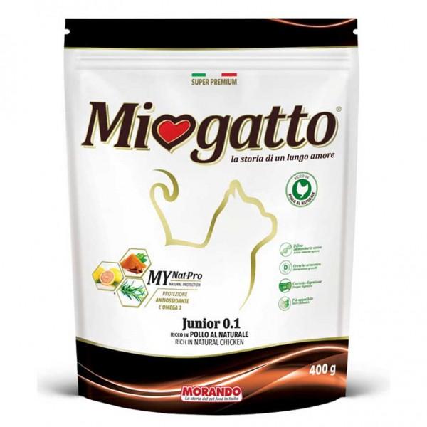 CROQUETTE CHAT JUNIOR 400G - MIOGATTO - MORANDO