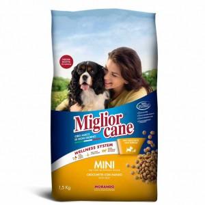 CROQUETTE CHIEN MINI ADULTE BOEUF 1.5kg - MIGLIOR CANE - MORANDO